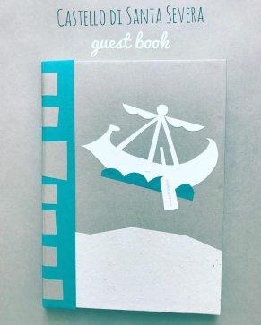 castello di santa severa - guest book - petì lab
