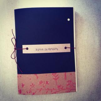 quaderno bjork