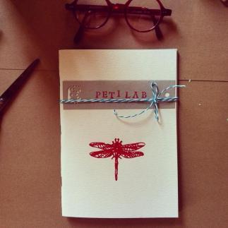 quaderno libellula